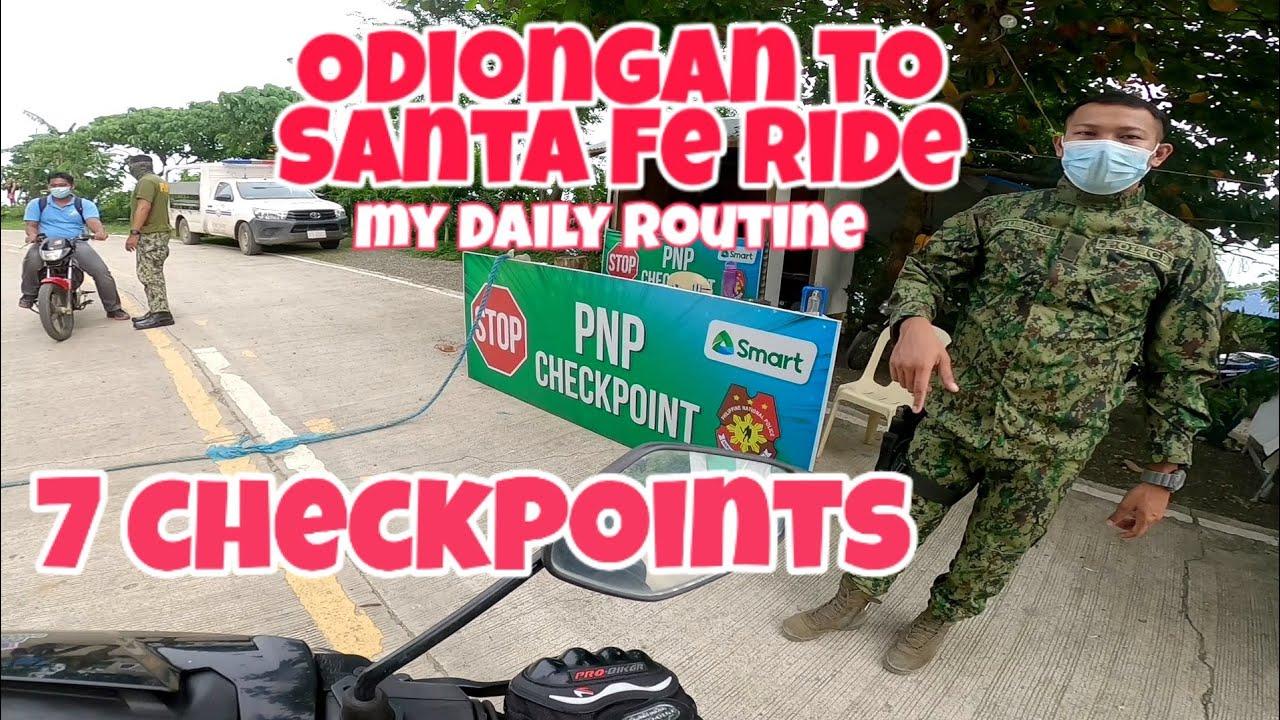 Odiongan to Santa Fe Ride   Migo Motovlog Yamaha Sniper