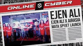 "ONLINE CYBER – Episode 10 ""Ejen Ali x AirAsia MATA SpyJet Launch"""