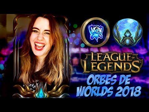 ABRIENDO ORBES DE WORLDS 2018 Y MAS!! - League of Legends thumbnail