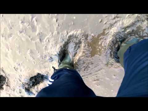 Hunter Balmoral in sticky estuary mud