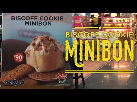Sweet Treats Manila: Cinnabon Biscoff Cookie Minibon SM Mall of Asia