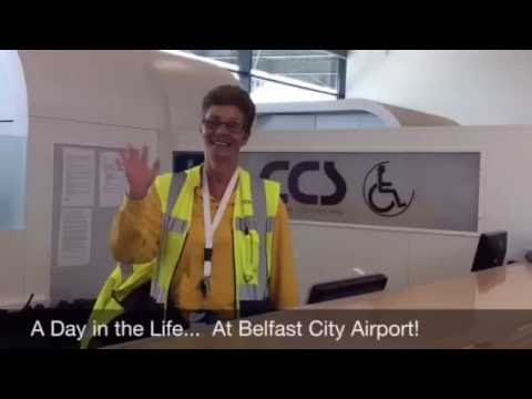 A Day in the Life at Belfast City Airport - Special Assistance