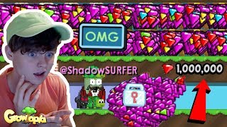 BUYING 1,000,000+ GEMS in Growtopia!!