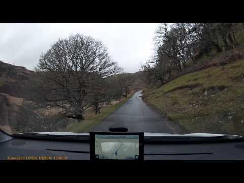 The road from Beulah to Tregaron