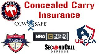 Concealed Carry and Firearm Insurance Options:  Which One Is Best For You?