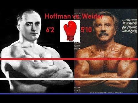 Bob Hoffman Vs Joe Weider 1951 Boxing Match Challenge