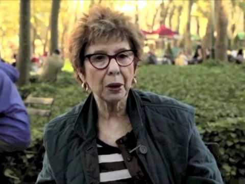 Alice Aspen March Interview In Bryant Park, NYC