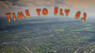 Summer nature from drone. Aerial Phantom 4 footage. Uvarovo. Уварово, Тамбовская область