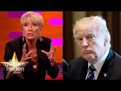 Download Youtube: Donald Trump Asked Out Emma Thompson! | The Graham Norton Show