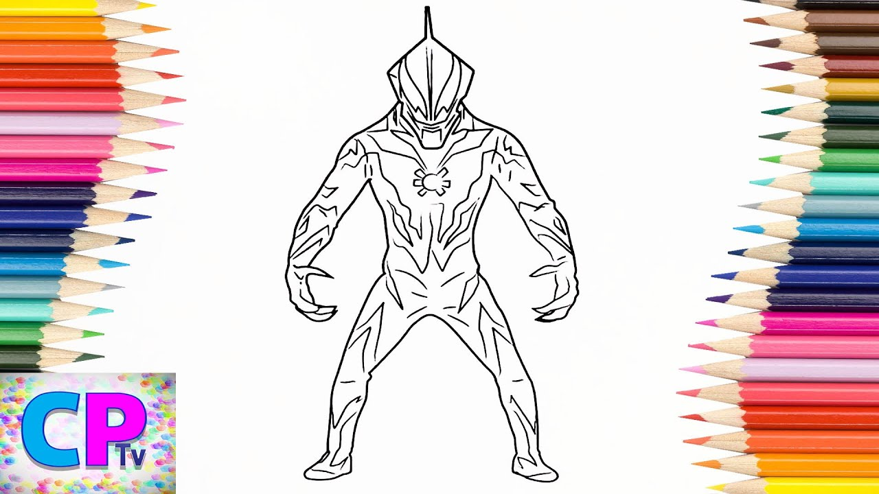 Ultraman Belial Coloring Pages for Kids, How to Color Ultraman ...