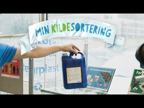 Youtube preview av filmen Min kildesortering - plastemballasje på arbeidsplassen