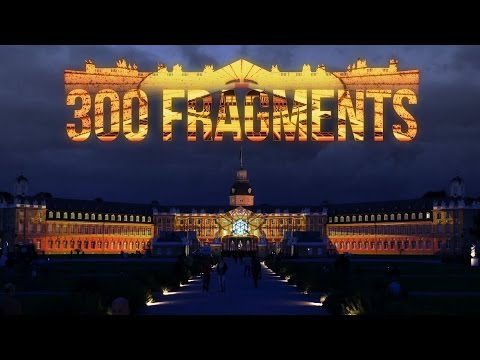 300 Fragments - Projection Mapping on Palace of Karlsruhe for KA300 by Maxin10sity (Official)