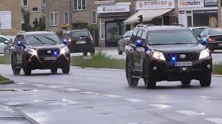 Hulpdiensten met spoed in Denemarken en Zweden