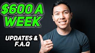 $600 A Week Unemployment Benefits: Updates, Extension & F.A.Q
