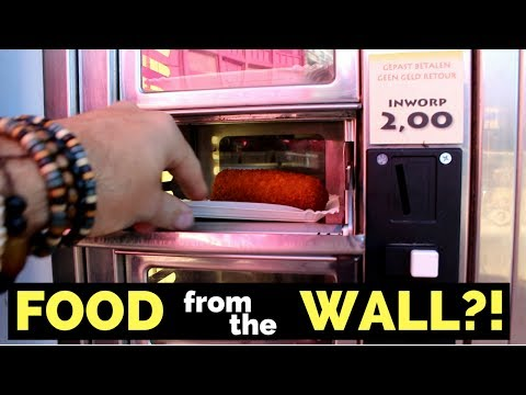 FOOD FROM THE WALL IN HOLLAND!?