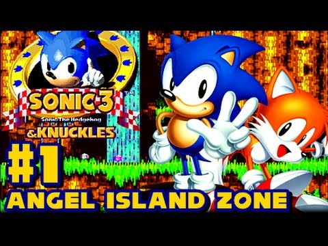 Sonic 3 and Knuckles - (1080p) Part 1 - Angel Island Zone