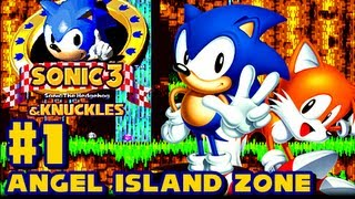 Sonic 3 And Knuckles 1080p Part 1 Angel Island Zone