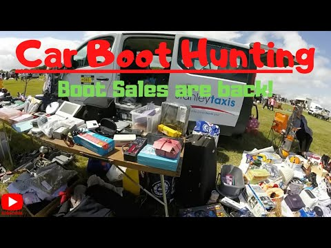 Car Boot Hunting ▪ Boot Sales Are BACK!│What Will I Find...│GoPro Footage│Profit Hunting!│Episode 15