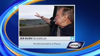 Former President George H.W. Bush back in Maine