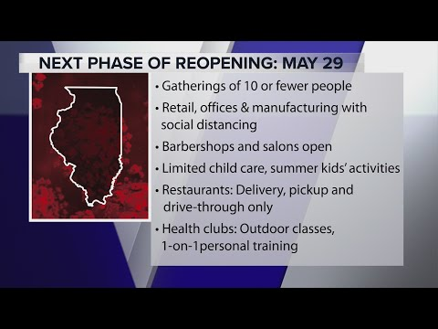 Coronavirus In Illinois: What Does Phase 3 Of Pritzker's Reopening Plan Look Like?