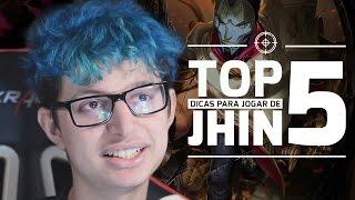 TOP 5 - Dicas para jogar de Jhin  com TaeYeon