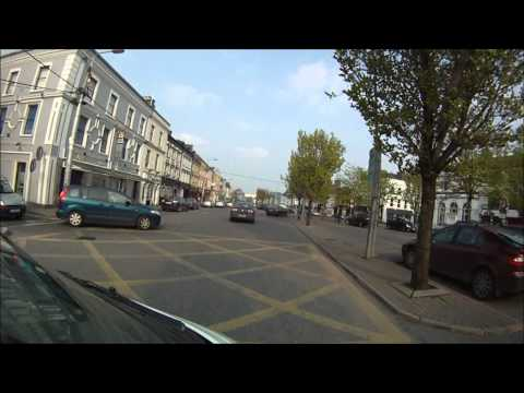 Driving around Thurles Co. Tipperary Ireland