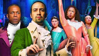 *HAMILTON* IS NOT EVEN THE MAIN CHARACTER?? (REACTIONS / SING-A-LONG)