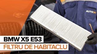 Întreținere BMW E53 - tutoriale video gratuit