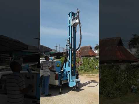 รถเจาะน้ำบาดาล ขนาดเล็ก Alabaster Drill J150 สนใจโทร082-1062163