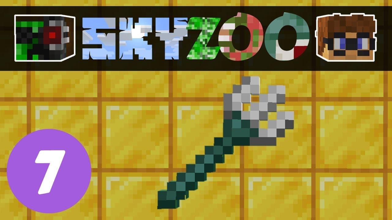 Sky Zoo #7: Midas Touch | Minecraft SkyBlock1 14 - Видео онлайн