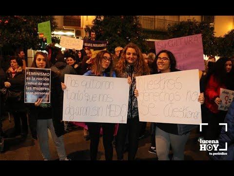 VÍDEO: Las imágenes de la concentración feminista celebrada en la Plaza Nueva