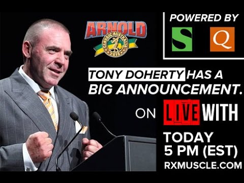 Arnold Classic Asia - LIVE with TONY DOHERTY