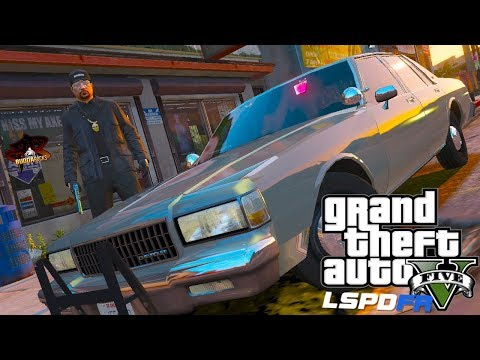 Street Justice!◆LSPDFR GTA 5 UC Gang Patrol◆1990 Unmarked Caprice◆Real Life Police Mods Video