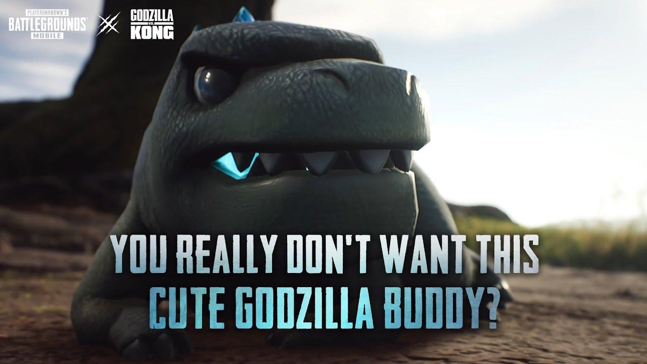 PUBG MOBILE | Godzilla Buddy