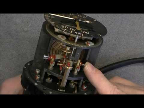 Soviet aircraft  instrument teardown: combined variometer and turn and slip