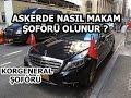Askerde Nasıl Paşa Şoförü Oldum ?   KORGENERAL ŞOFÖRÜ..
