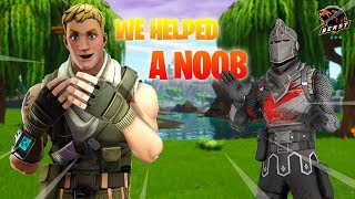 WE HELPED HIM GET HIS FIRST WIN | ft. ST Savage | SOUL TAKERS | FORTNITE INDIA |