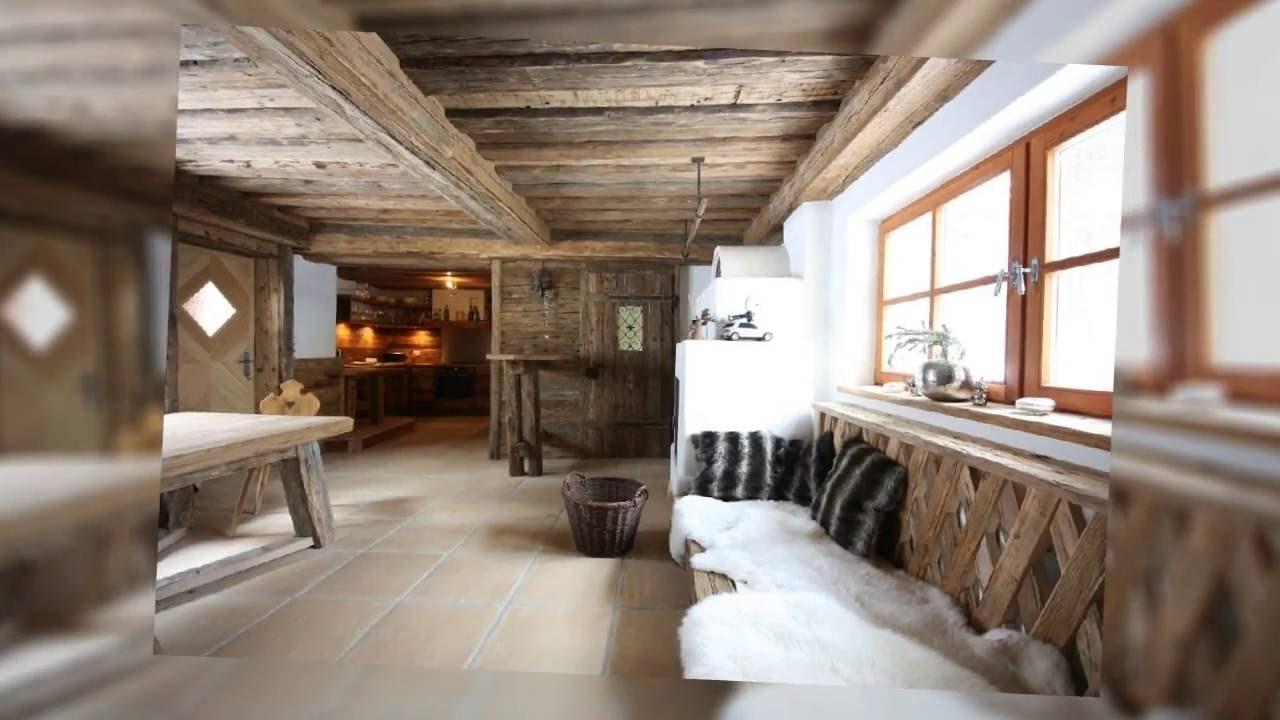Altholz Im Wohnraum Wohndesign Mit Tradition Youtube