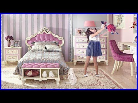 ДЕТСКАЯ КОМНАТА ДЛЯ ДЕВОЧКИ | Много Красивых Идей Дизайна Комнаты для Девочки
