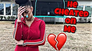 DAMIEN CHEATED ON ME very emotional