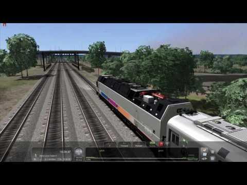 Train Simulator 2017: Bergen Division Hoboken-Suffern