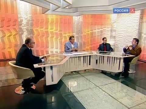 "Alexey Kurbatov & Pavel Sorokin about ""The Black Monk"" premiere/The Observer, KULTURA TV"