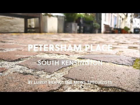 London Mews House || Petersham Mews || Kensington || SW7 || Lurot Brand