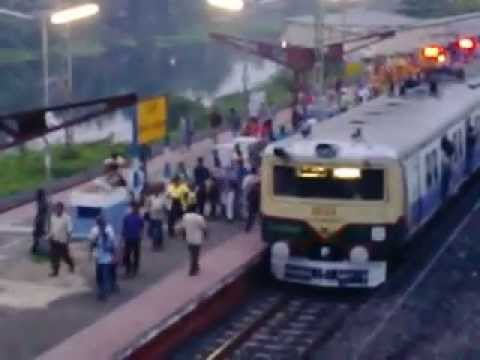 HOWRAH KATWA LOCAL RUNNING ON RIGHT TIME