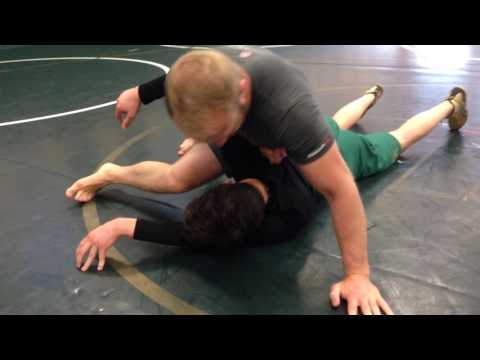 Mean Arm Bar Finish with 4X State Champ Lex Case