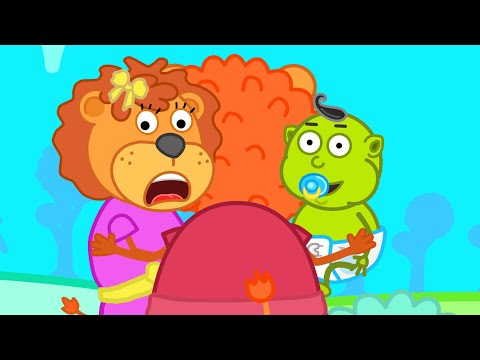 Lion Family Official Channel ✍️ Hide and Seek | Cartoon for Kids