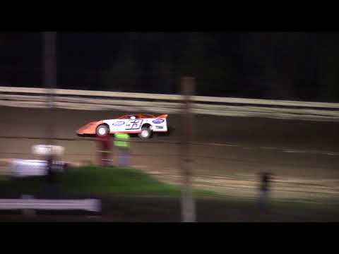 Hummingbird Speedway (9-9-17): BWP Bats Super Late Model Heat Race #1