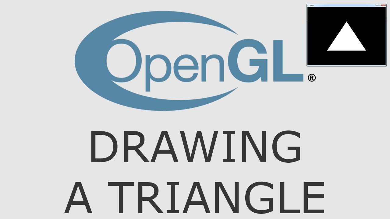 Download OpenGL Tutorial 4 - Drawing A Triangle