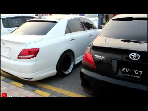 Toyota Mark X Modified - Pakwheels Sialkot Auto Show