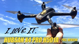 HUBSAN X4 AIR PRO H501A - New Waypoints & features! - FULL REVIEW